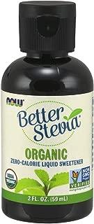 NOW Foods Better Stevia Organic Sweetener, 2 oz