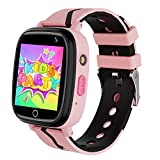 Kids Smartwatch with GPS LBS Double Positioning Tracker...