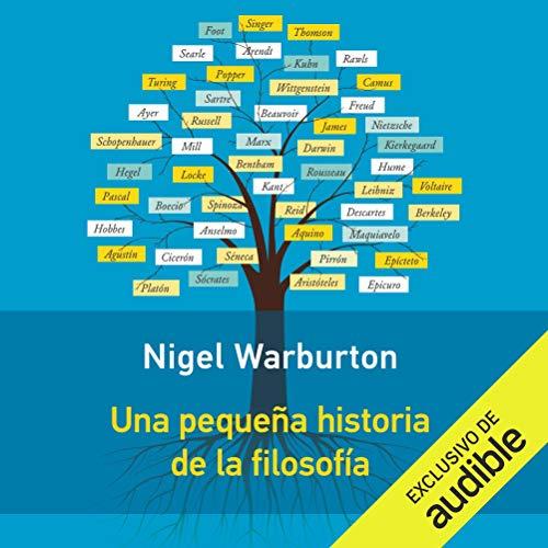 Diseño de la portada del título Una Pequeña Historia de la Filosofía