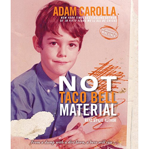 Not Taco Bell Material audiobook cover art