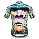 Maillots de ciclismo para los hombres de manga corta de verano de la camisa de ciclismo tops de deportes al aire libre de carreras de ropa de patrones 3D sudadera