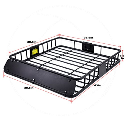 LT Sport SN#100000001182-244 for Scion Top Roof Cargo Luggage Carrier Basket w/Wind Fairing