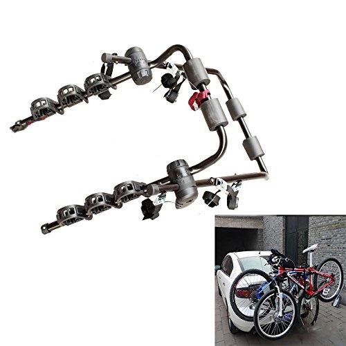 LMIAOM SJ-531 Bastidor portabicicletas de Montaje en Maletero de 3 Bicicletas for...