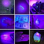 Lepro LE UV Torch, 9 LED 395nm Ultraviolet Flashlight, Blacklight Detector for Pet Urine, Stain, Bed Bugs and More, 3 AAA Batteries Included 17
