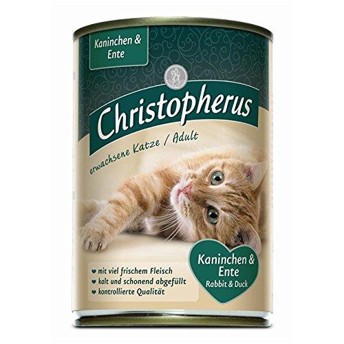 AL-KO-TE Christopherus Kaninchen & Ente   6X 400g Katzenfutter