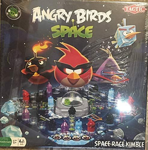 TACTIC - Angry Birds Power Pack enthält - Angry Birds Space RAce Kimble + Angry Birds Power Cards