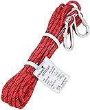 ENJOHOS Corde d'Escalade en Rappel Auxiliaire en Polyester/NylonCharge 900kg pour Alpinisme Sauvetage 10m