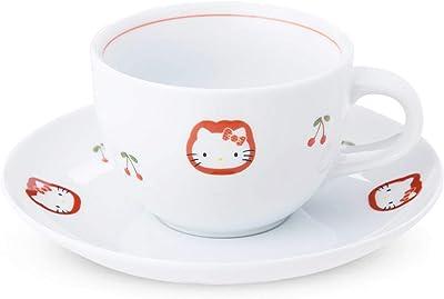 有田焼 HELLO KITTY(ハローキティ) チェリー コーヒー碗皿(カップ&ソーサー)190cc
