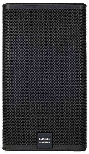 QSC E115BK 15' 500 Watt 2-Way Full Range Passive Loudspeaker