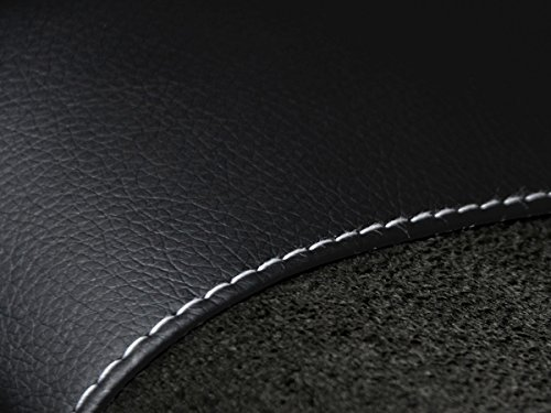 Volkswagen Fundas de asiento T6 a medida, ajuste perfecto, fundas protectoras de asiento de terciopelo + acolchado de punto, decoración para coche (Premium 9), color negro
