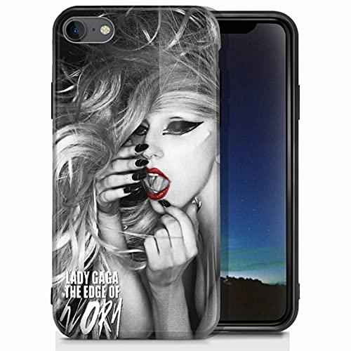 vgfshcw Funda iPhone 7 Plus/Funda iPhone 8 Plus Glossy Bright Soft Slim Shockproof TPU Case K yo Soh ma Cases_493