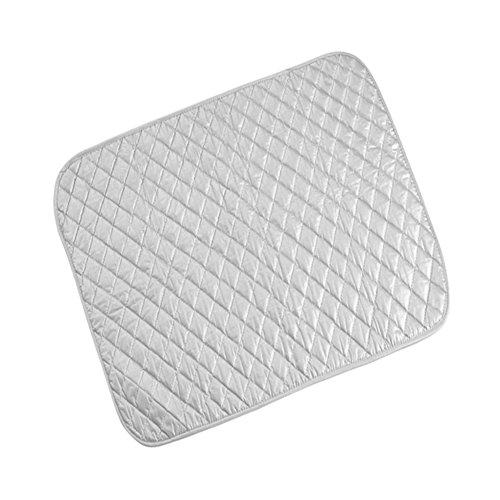 SoarUp アイロンマット アイロンマット コンパクト 折りたたみ 耐熱 シルバー(48 * 85 cm)