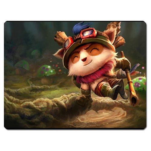 LOL The Swift Scout Teemo Cosplay Mauspad Catoon Anime Panda