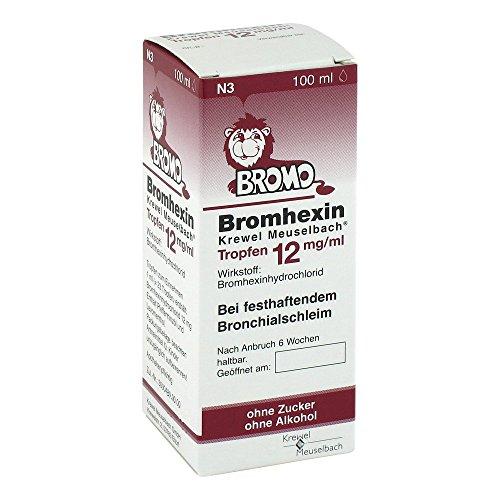 Bromhexin Krewel Meuselbach Tropfen 12 mg/ml, 100 ml