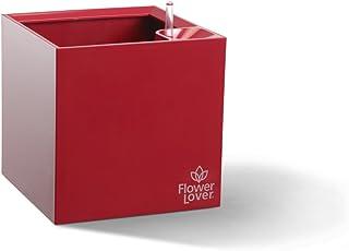 Flower lover 616432 - Cubretiesto, Color Rojo