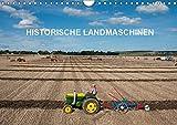Historische Landmaschinen (Wandkalender 2019 DIN A4 quer): Fotos von alten Traktoren (Monatskalender, 14 Seiten )