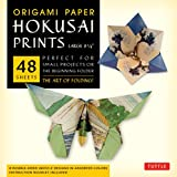 Origami Paper - Hokusai Prints - Large 8 1/4' - 48 Sheets: Tuttle Origami Paper: High-Quality Double-Sided Origami Sheets Printed with 8 Different Designs (Instructions for 6 Projects Included)
