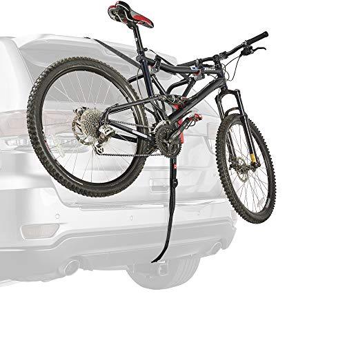 Allen Sports Ultra Compact Folding 1-Bike Trunk Mount Rack, Model MT1-B, Gray powder coated