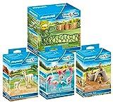PLAYMOBIL Zoo 70347 70349 70350 70351 - Juego de 4 piezas