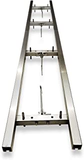 XRKJ Rail Mill Guide System 6 Ft, 2 Crossbar Kits Work with Chainsaw Mill