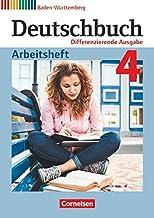 Deutschbuch Band 4: 8. Schuljahr - Differenzierende Ausgabe Baden-Wurttemberg - Arbeitsheft mit Losungen [German]