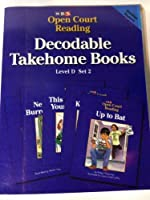 SRA Open Court Reading Decodable Takehome Books Level D Set 2 0026839350 Book Cover