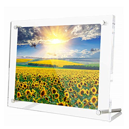 アクリルフレーム フォトフレーム 額縁 A4サイズ 壁掛け 横縦置き兼用 写真立て クリアフレーム 賞状 ポスターフレーム おしゃれ 210mmx297mm