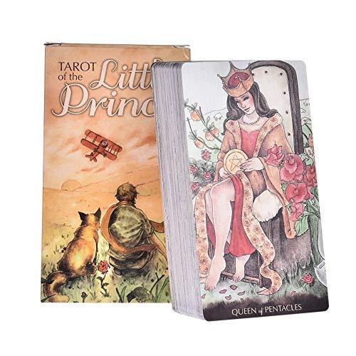 YUNNING Tarot Juego De Cartas 2020 Nuevo Tarot del Principito Inglés Tarot Cartas Fate Divination Jugando Tarjeta De Fiesta Juego De Mesa Juguete Gratis Envio