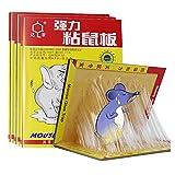 KLMM Trampa de Pegamento para Ratones de Gran tamaño, trampas Adhesivas de Gran Agarre para Ratones, Ratas, roedores para Ratones/roedores/plagas/Insectos/Hormigas/arañas (Size : 10 pcs)