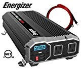 ENERGIZER 2000 Watt 12V Power Inverter, Dual 110V AC Outlets,...