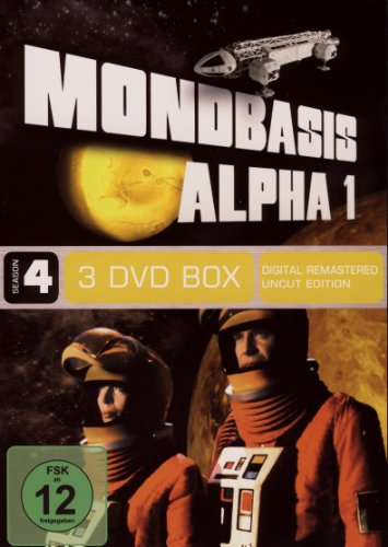 Mondbasis Alpha 1 - Season 4 (Uncut, Vol.10 - 12, Folge 37 - 48) (3 DVDs)