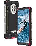 rugged smartphone, doogee s86 pro 2021 telefono indistruttibile con misura della temperatura, 8500 mah 8gb + 128gb, 6.1''hd+, 4g cellulare antiurto ip68/ip69k helio p60 ai 16 mp triple telecamera,nfc