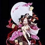 Wuhuayu Figura De Demon Slayer, Figura De Nezuko, Escala 1/6, Altura De 420 Mm, Figura De Anime Sofi...