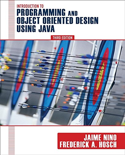 Introduction to Programming and Object-Oriented Design...