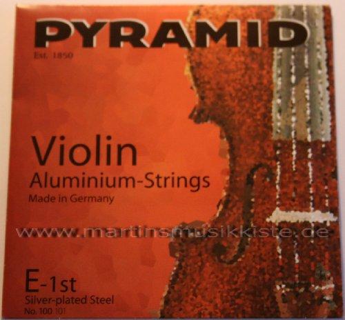 Pyramid Violin Geigen Saiten Aluminium Strings Saitensatz 4/4 Geige