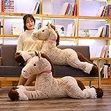 90cm / 120cm Creatividad Lindo Kawaii Unicornio Peluches Gigante Animal de Peluche Caballo Juguetes para niños Muñeca Suave Regalo de cumpleaños para el hogar 120cm