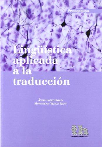 Lingüística aplicada a la traducción (Prosopopeya Manuales)