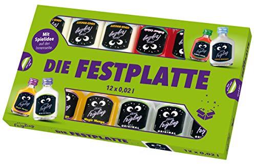 Kleiner Feigling | Best of Kleiner Feigling | 12 x 20ml | Marken-Spirituose | Premium Likör | Feiern mit Fantasie | Der Party – Shot
