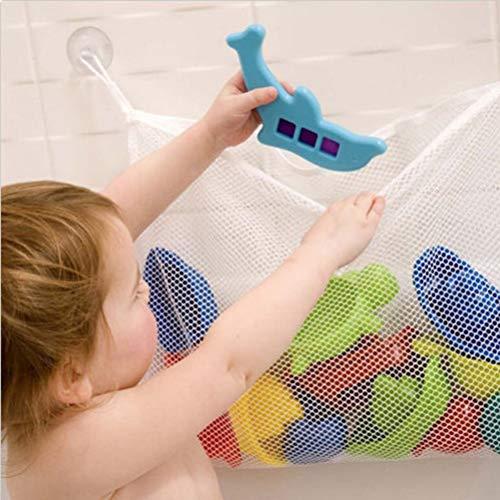 Egosy Children Bath Toy Organizer Perfektes großes Bad Spielzeug Netz für Badewanne Spielzeugnetz & Badezimmer