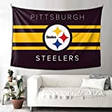 VF P-Ittsburgh S-Teelers Home Decoration Tapestry Bedroom Living Room Dorm Wall Decor Art 90X60inch(Horizontal Version)