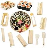 Sushi Maker Kit 10pcs únicas de Kit para Hacer Sushi Molde Inicio del fabricante Fácil y divertido...