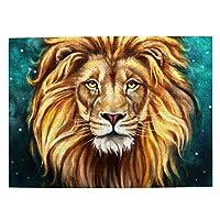 500ピース ジグソーパズル,Artistic Male Lion 芸術的な雄ライオン 木製パズル オモチャ 大人 減圧 Puzzles 知育玩具 子供 パズル 脳開発 ストレス解消 贈り物