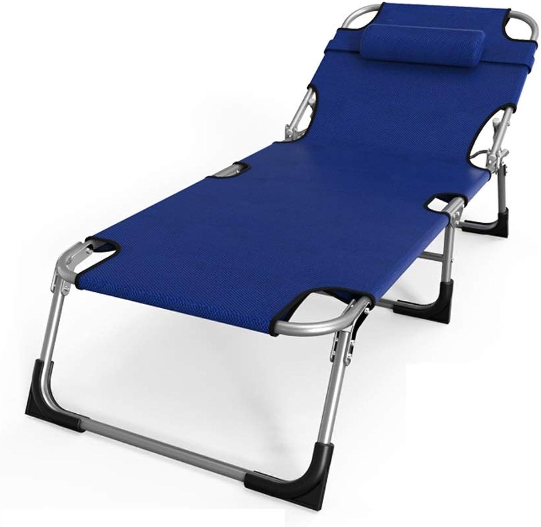 DKJH Bürobett, einfacher Sessel, Klappbett, Einzel-Siesta-Bett, unsichtbares Bett, Hhenverstellung der Rückenlehne, klappbar, verbreitert und verstrkt (Farbe   A)