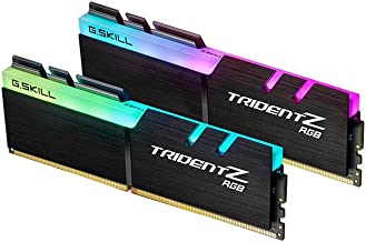 G.SKILL TridentZ RGB Series 32GB (2 x 16GB) 288-Pin DDR4 SDRAM DDR4 3200 (PC4 25600) Desktop Memory Model F4-3200C16D-32GTZRX