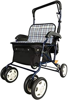 Mobility Aids & Supplies Walker Old Man Can Push The Shopping Cart Adjustable Folding Wagon Four-wheeled Cane Can Take The...