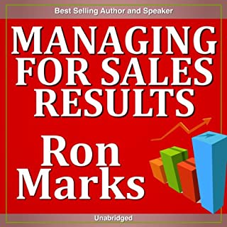 Managing for Sales Results audiobook cover art