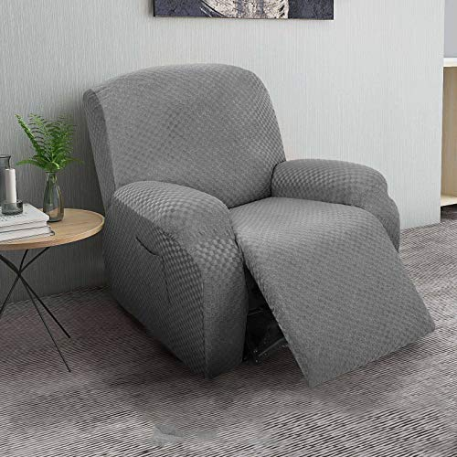 HUANXA Stretch 1 2 3 Seater Recliner Sofa Slipcover, Jacquard Reclining...
