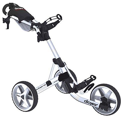 Clicgear Erwachsene 3.5 Golftrolley, Arctic/White, One Size