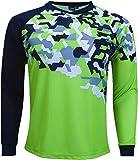 Reusch Soccer Reusch Camo Goalkeeper Jersey Camo/Green, Youth Medium
