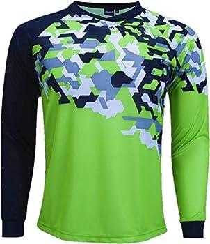 Reusch Soccer Reusch Camo Goalkeeper Jersey Camo/Green Youth Medium